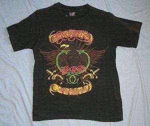 Vintage AEROSMITH rock t-shirt sz-M  *$2 US SHIPPING*