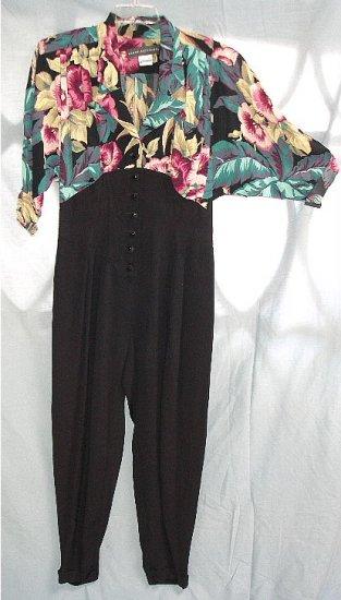 KAREN ALEXANDER stunning elegant career 1pc pantsuit 10 $1 SHIPPING