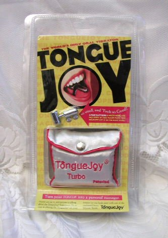 BRAND NEW TURBO TONGUE JOY personal oral vibrator massager  FREE SHIPPING