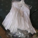 9 NEW white peasant shirts BOX LOT Resale FREE SHIPPING