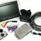 "New 7"" Tft Lcd Color Rear View Backup Camera System With Audio"