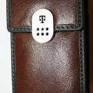 T-Mobile Leather Pouch Brown for  Samsung t739 t819