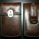 T-Mobile Brown Pouch Case for BlackBerry Curve 8320