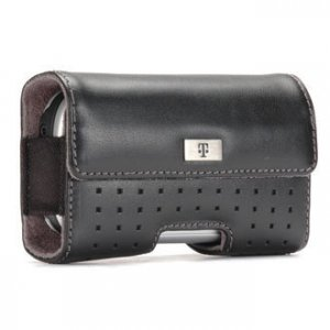 T-Mobile Leather Pouch Case for HTC SDA and Nokia 8801
