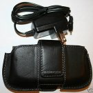 OEM SIDEKICK 2 3 ID Leather Pouch BLACK + Home Charger