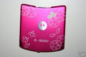 OEM Motorola RAZR V3 Back Cover  Cherry Blossom Tattoo
