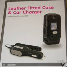 T-Mobile Leather Fitted Case+Car Charger for Nokia 3555