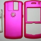 Hard Shell Case Cover PINK for Blackberry Pearl 8100