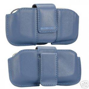 NEW Sidekick 2 3 id Leather phone Pouch OEM bijou-blue