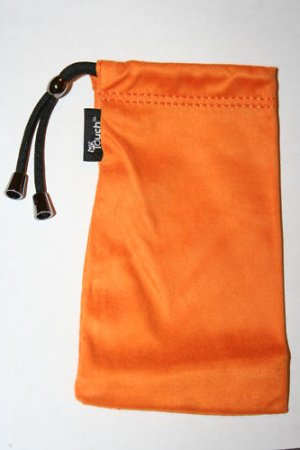 Clean Screen Drawstring Pouch For HTC Evo 4G ORANGE