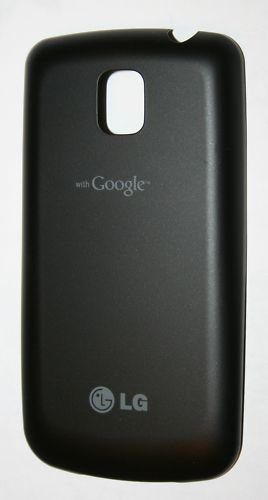 NEW OEM LG Optimus T Door Back Cover T-Mobile Black