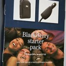 T-Mobile Leather Pouch+Car Charger for BlackBerry 8700g