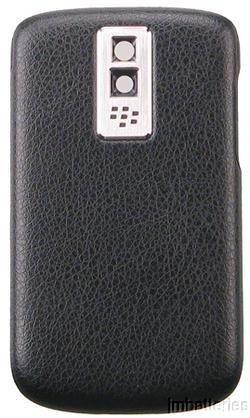 NEW OEM BLACKBERRY Bold 9000 DOOR BACK COVER Black