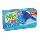 New Chore Boy Longlast Scrubber Sponge Scrubs Without Scratching - 3 sponges