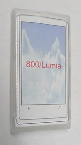 New Clear TPU Gel Skin Frosted Cover Soft Case for Nokia Lumia 800