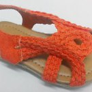 New Link Toddler Girls Sandals - Natural, Orange, Blue, Yellow, Red, Purple