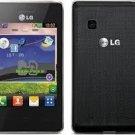 NEW LG T375 COOKIE SMART 3G WI-FI DUAL - SIM GSM Phone BLACK