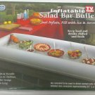 Lot of 2 - Inflatable Salad Bar Buffet Picnic Drink Table Cooler Party Ice Chest