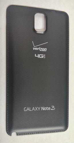 OEM Samsung Galaxy Note III 3 SM-N900V Back Cover Battery Door - Verizon - Black