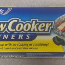 Lot of 2 - New Reynolds Slow Cooker Liners Easy Cleanup- (4 Liners, 13in x 21in)