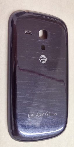 OEM Samsung Galaxy S3 mini G730A Standard Battery Door Back Cover  - Blue - AT&T