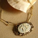 Cameo Pendant Necklace