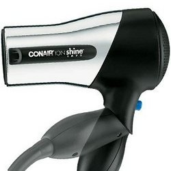 Conair Ion Shine Travel Ionic Chrome Styler