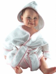 A Luxury Robe with Pink Trim