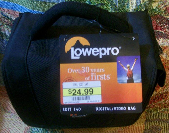 Lowepro Edit 140 Digital Video camera carry bag...brand new
