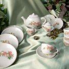 17 pc Child's Tea Set