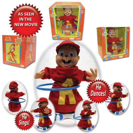 Alvin the Chipmunk Hula Hoop Singing Doll