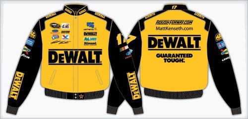 2008 MATT KENSETH  DEWALT KIDS COLOR TWILL JACKET
