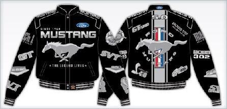 Mustang Jacket Black