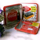 Coke Coca Cola Coaster Set W/ Holder