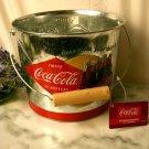 Coke Coca Cola Galvanized Beverage Bucket