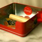 Coke Coca Cola Galvanized Napkin Holder