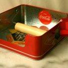 Coke Coca Cola Galvanized Napkin Holder