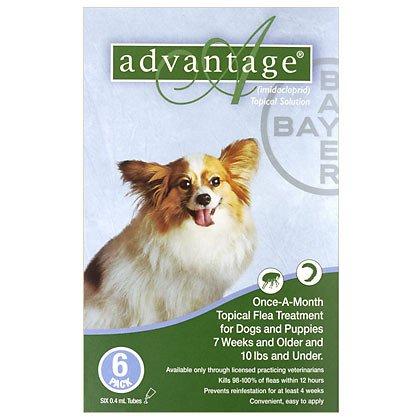 ADVANTAGE CANINE GREEN 1-10#