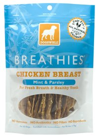 DOGSWELL BREATHIES CHICKEN 15 OZ