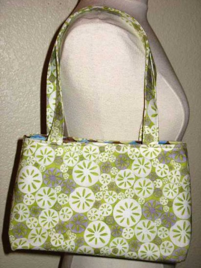 The Mabel Handbag - Lime