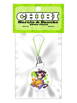 CHIBI : Naruto & Sasuke phone charm