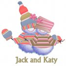 Christmas Cards Snowman Couple PERSONALIZED Note Cards