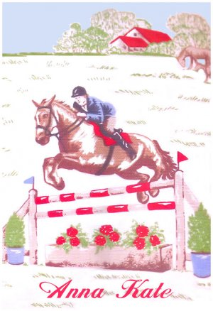 Horse Riding Pony Rider PERSONALIZED Note Cards