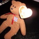 Teenie Beanie Baby: Brittania the Bear