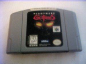 Nightmare Creatures (N64)