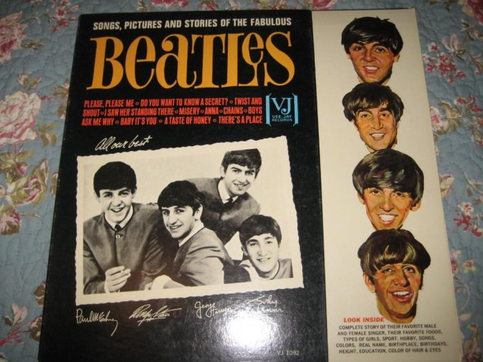 The Beatles: ALL OUR BEST 33 1/3 rpm