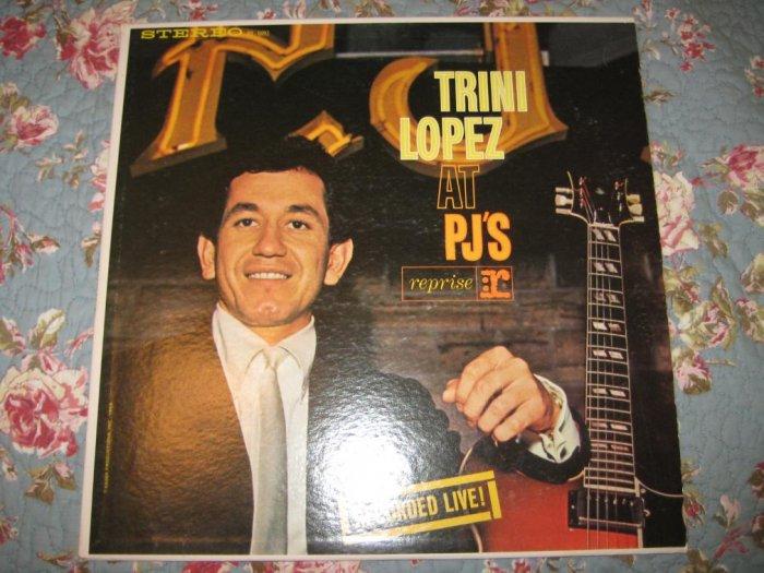 Trini Lopez at PJs 33 1/3 RPM