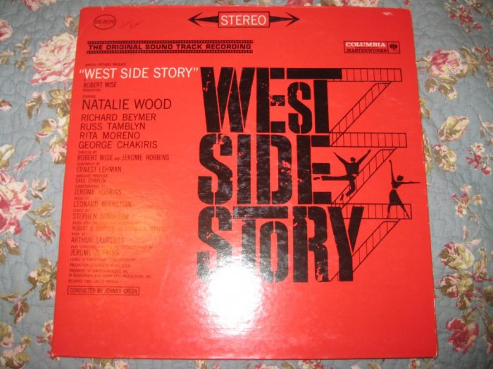 West Side Story: Original Motion Picture Soundtrack 33 1/3 RPM