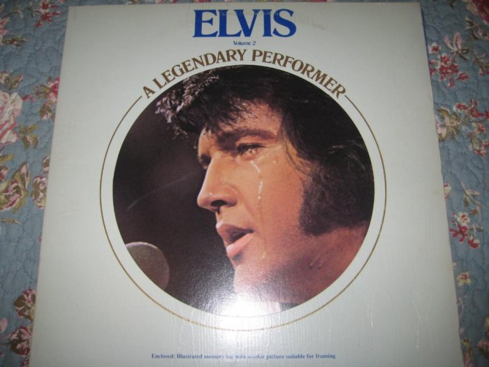 Elvis: A Legendary Performer Vol. 2 - 33 1/3 rpm