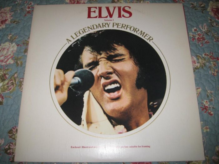 Elvis: A Legendary Performer Vol. 1 - 33 1/3 rpm
